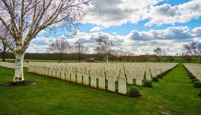A War Cemetery