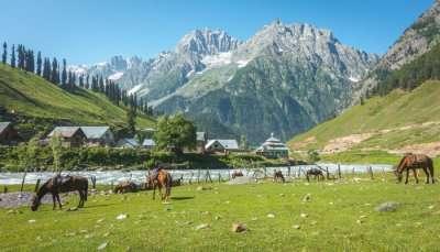 Valleys in Kashmir