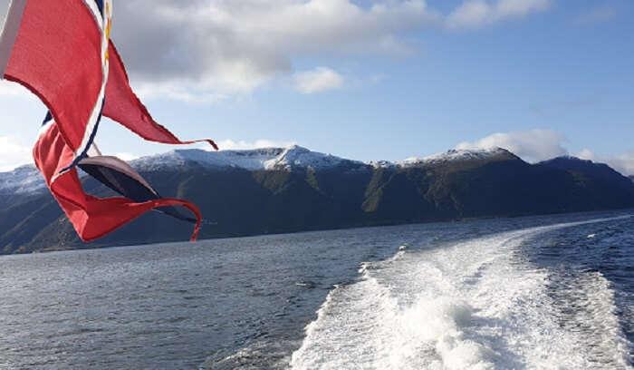 cruising between the fjords_Norway