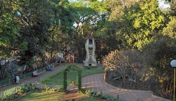 hanging gardens, mumbai