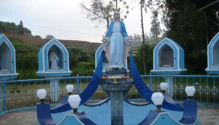 catholic church ooty