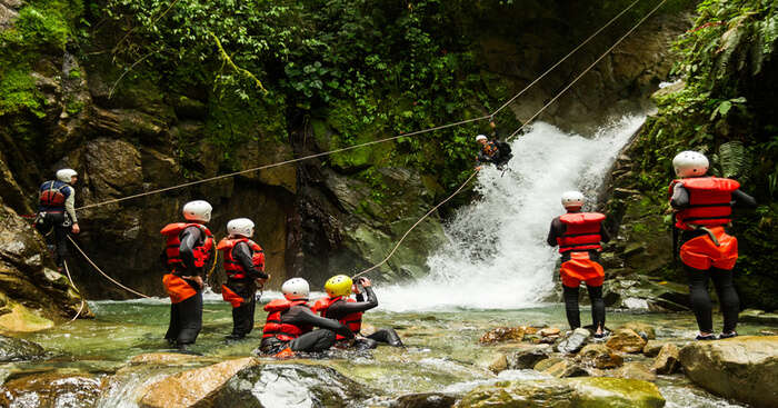 Canyoning in India