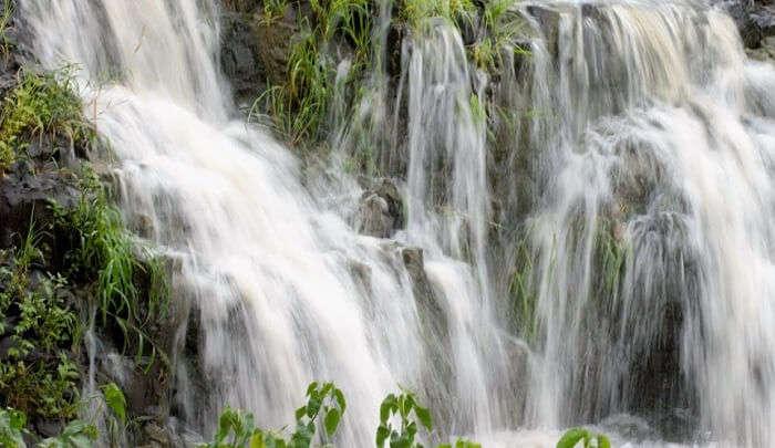 mesmerizing waterfall view
