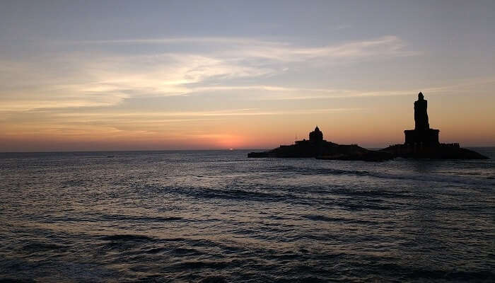 Kanyakumari Sunset Views