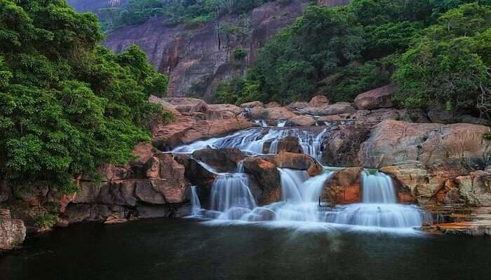 Aadoshi Range Of Waterfalls