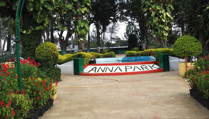 Front View Of Anna Park, Yercaud