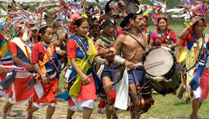 Tutsa Dancers in Arunachal Pradesh