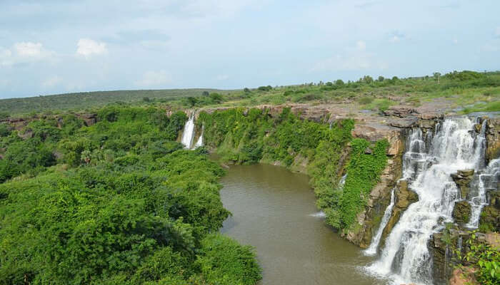 Ethipothala Falls in Vijayawada