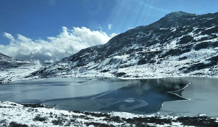 look at the mesmerizing lake