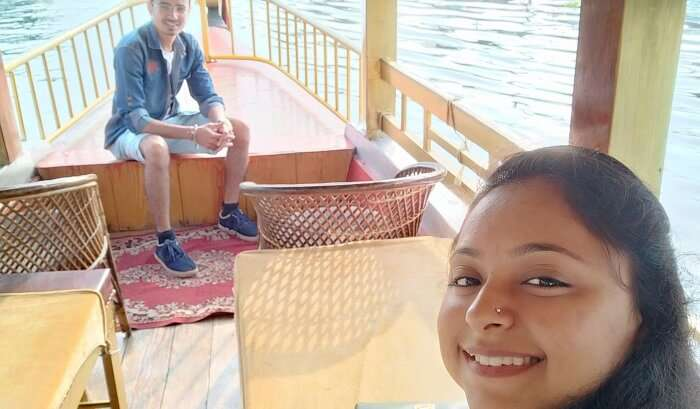 Shikara ride in alleppey water