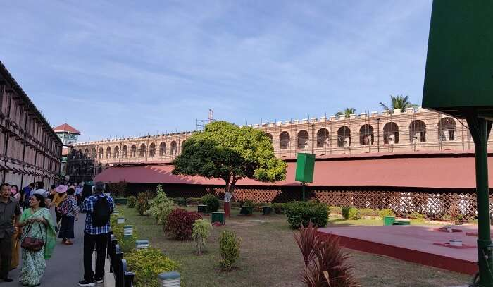 cellular jail view