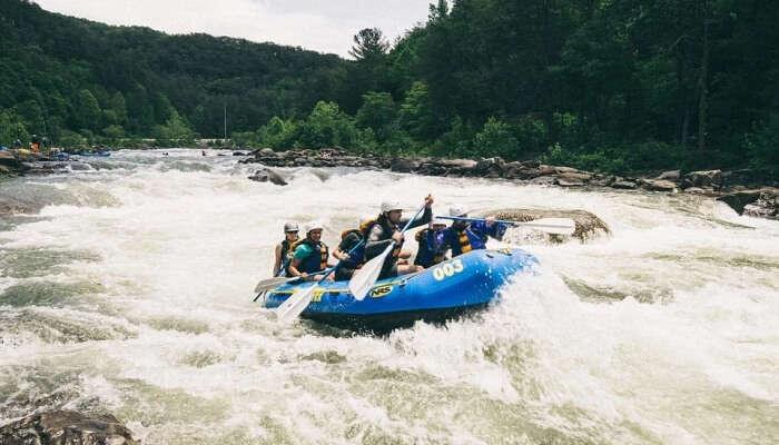 ravir rafting is adventurous activity