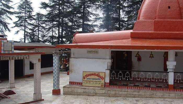 Kalika temple uttarakhand