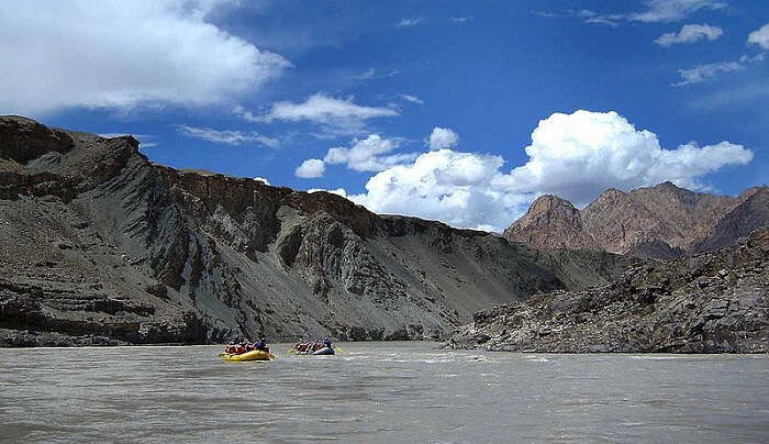 river rafting in Kargil
