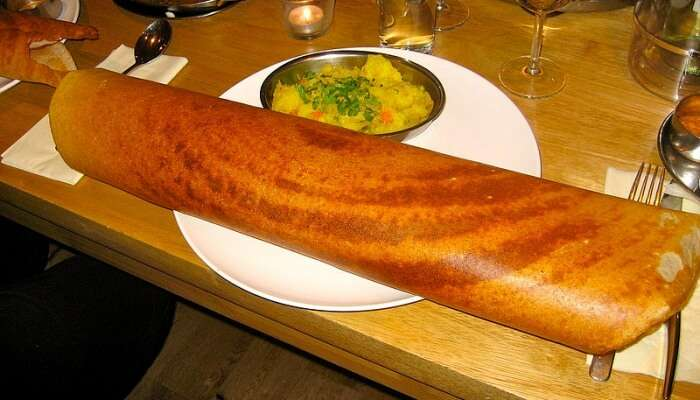 Madras Cafe is a restaurant