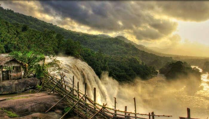 Olichuchattam Waterfall