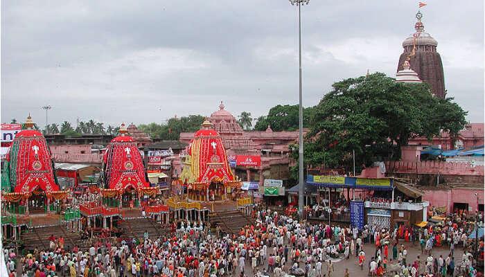 Rath Yatra in Puri