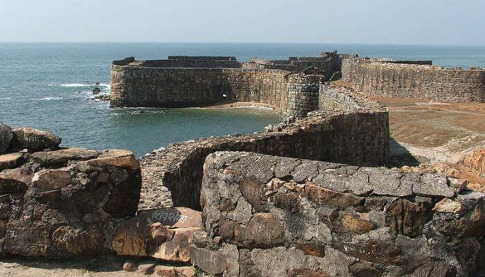 Sindhudurg Fort View