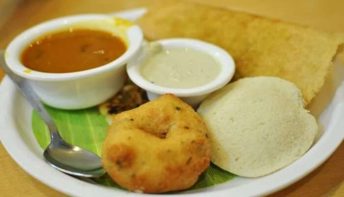 mouth-watering South Indian food