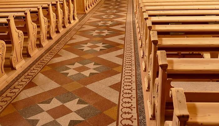 Catholic Church has a divine ambiance