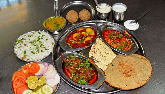 some authentic Indian food