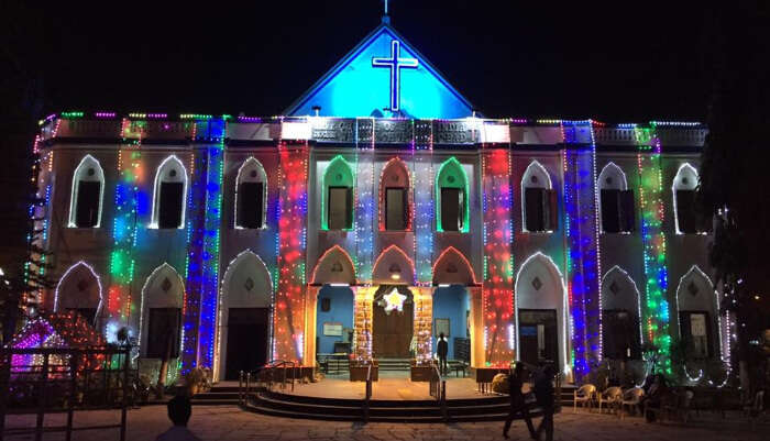 Wesley Church in Hyderabad