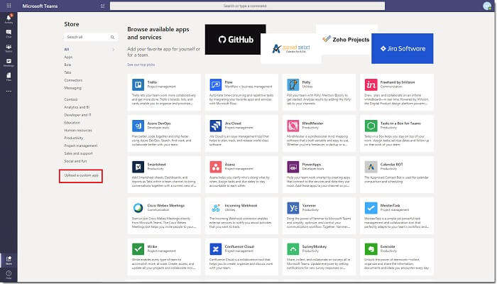 myteams Microsoft app
