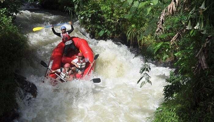 river rafting in Nainital