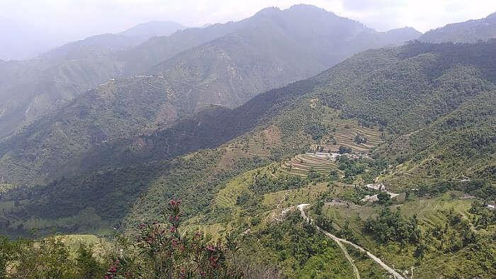 Hills in Mussoorie