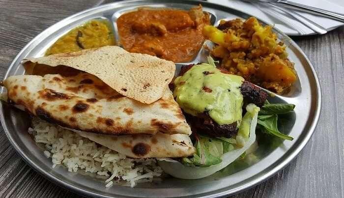 pure veg restaurant in Kullu
