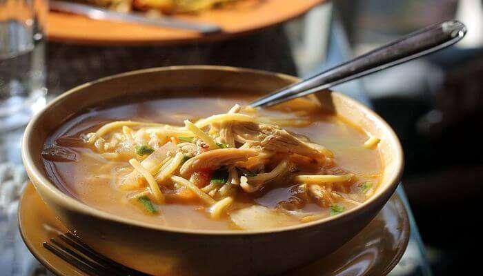 Tibetan food
