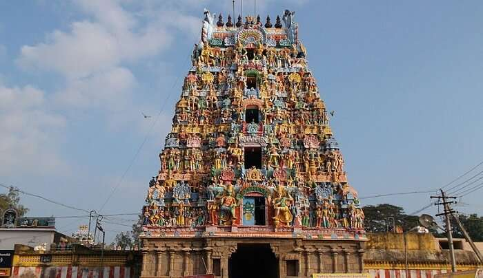 famous place in Thanjavur