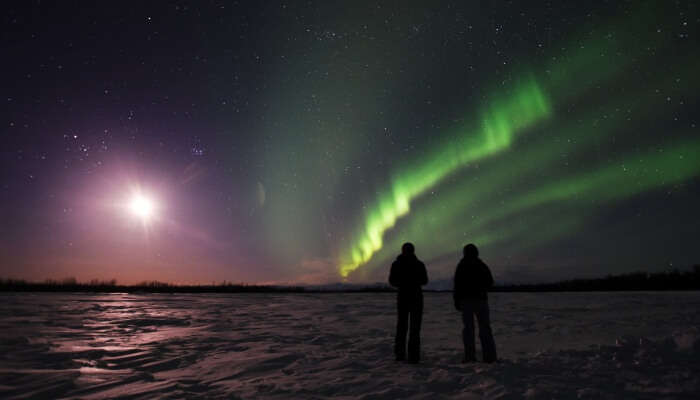 Best place to see Northern Lights in the USA