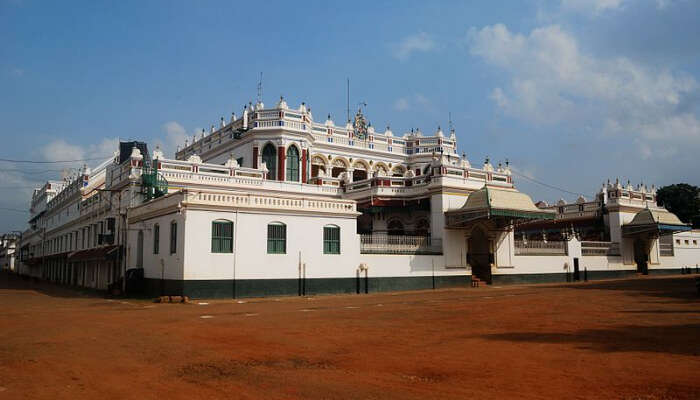A Palace In Chettinad