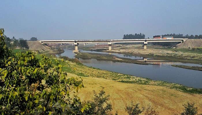 River In Uttar Pradesh