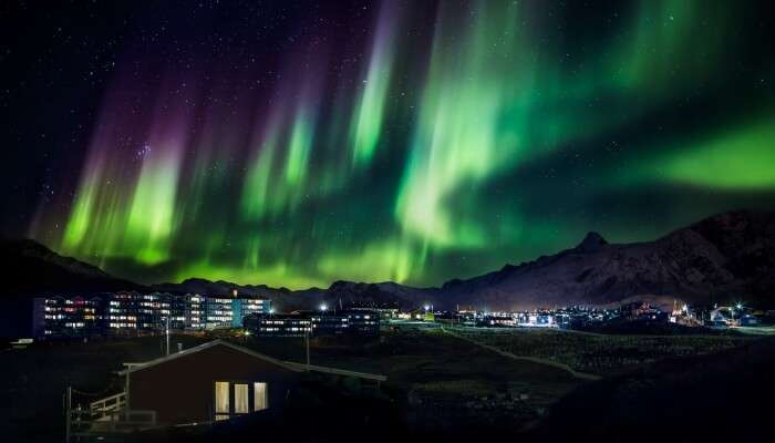 The scintillating view of the Northern Lights