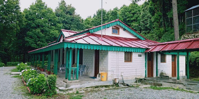 A Heritage Building In Mukteshwar