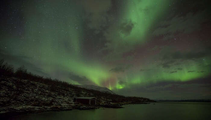 Sweden for experiencing the best of Aurora
