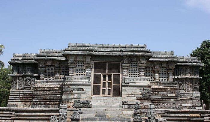 old Hoysala style temple