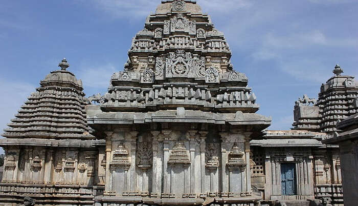 ancient Hoysala-style architecture