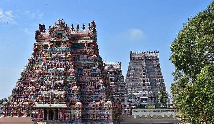 intricately-carved temple in Karnataka